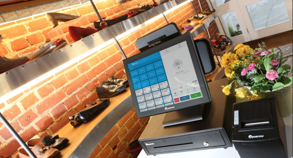 Epos Now hardware in a store